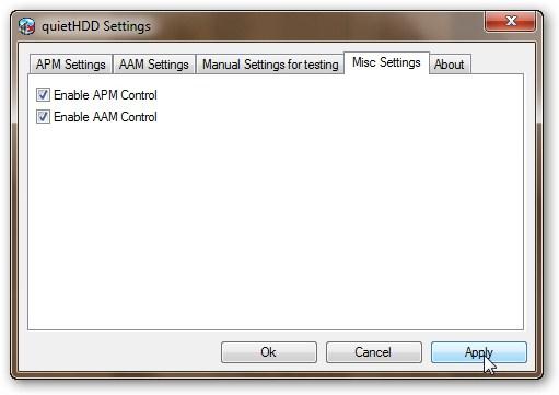 Проверяем включено ли управление AAM