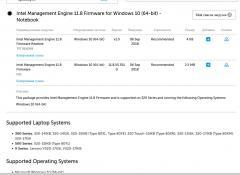 Intel Management Engine Firmware - что это