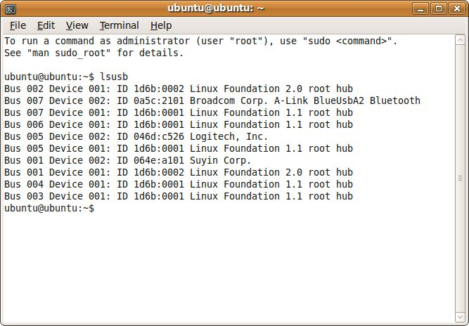 Список всех USB устройств
