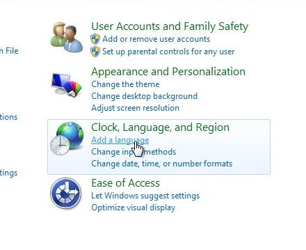Добавляем великорусский шлепалка на Windows 0